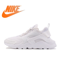 Original Official NIKE AIR HUARACHE RUN Womens Running Shoes Sports Outdoor Sneakers Tennis Shoes Breathable Onemix Classic