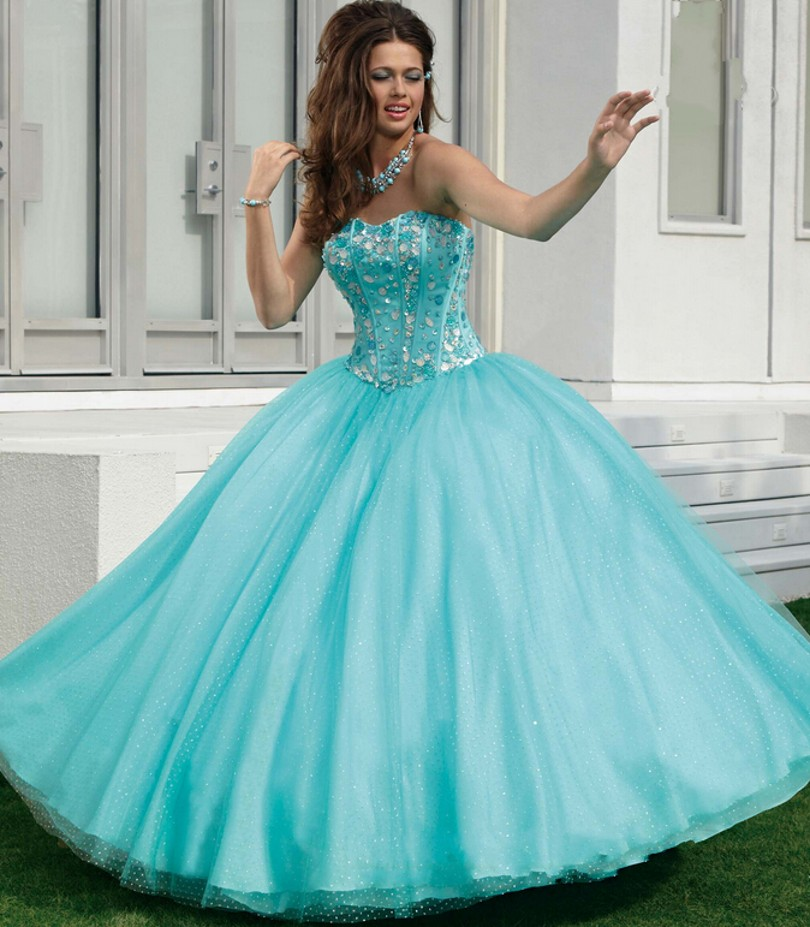 Popular Mint Green Quinceanera Dresses-Buy Cheap Mint Green ...