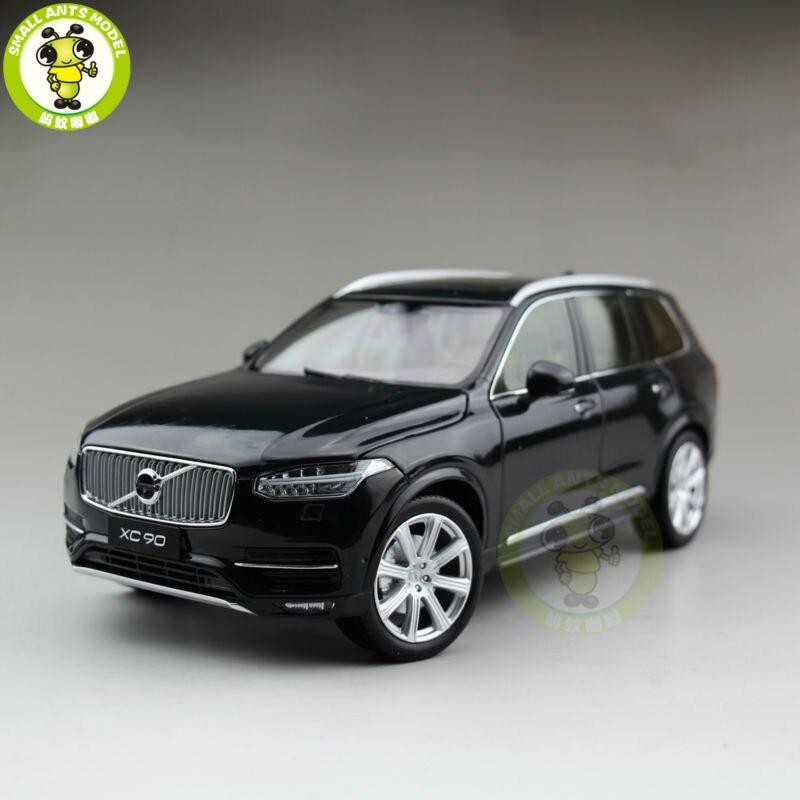 1/18 Volvo XC90 2015 SUV Diecast Model Car SUV Black цена