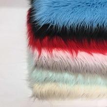 f3c1d2c6 10 cm de pelo de alta felpa de la playa de lana de rábano de seda de piel  sintética almohada hogar tela textil