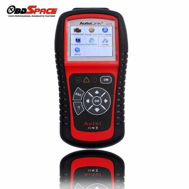 Original Multi-Languages Car Diagnostic Tool AUTEL AL519 Autolink OBDII/EOBD Auto Code Scanner TFT Color Display Diagnostic Tool