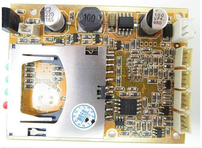ФОТО hd mini 1ch dvr board MPEG-4 video compression for XBOX dvr