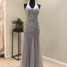 kissbridal Prom Dresses 2018 Floor Length Evening Dress