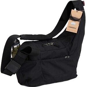 Image 2 - CAREELL C2028 고품질 배낭 트롤리 가방 한 어깨 배낭 카메라 비디오 사진 가방에 대 한 어깨를 가로 질러 기울여