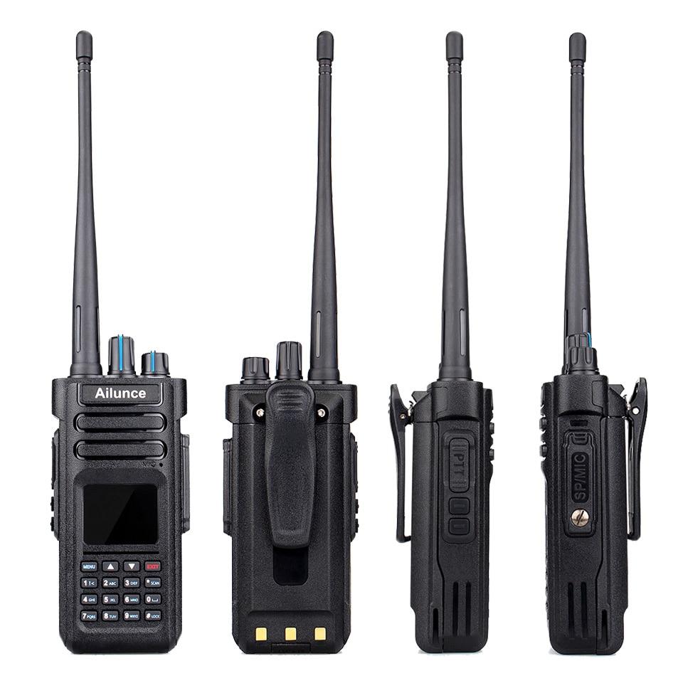 Image 4 - RETEVIS DMR Radio Ailunce HD1 Ham Radio IP67 Waterproof Digital Walkie Talkie (GPS) 10W VHF UHF Dual Band Two Way Radio Amador-in Walkie Talkie from Cellphones & Telecommunications