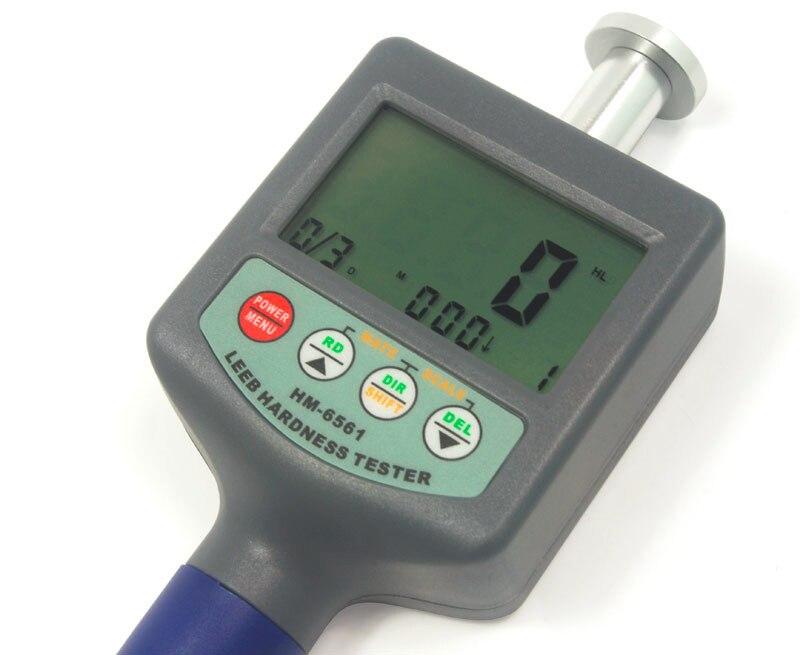 Портативный HM-6561 измеритель твердости Leeb