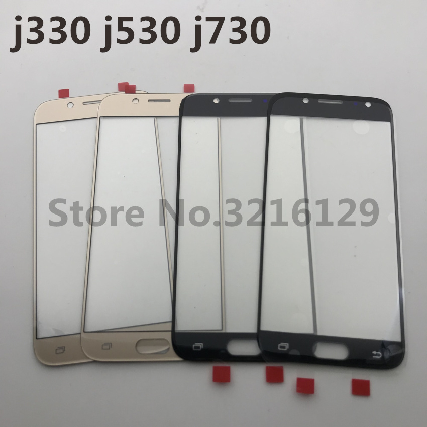 10pcs NEW Original High Quality LCD Front Touch Screen Glass Outer Lens For Samsung Galaxy J3