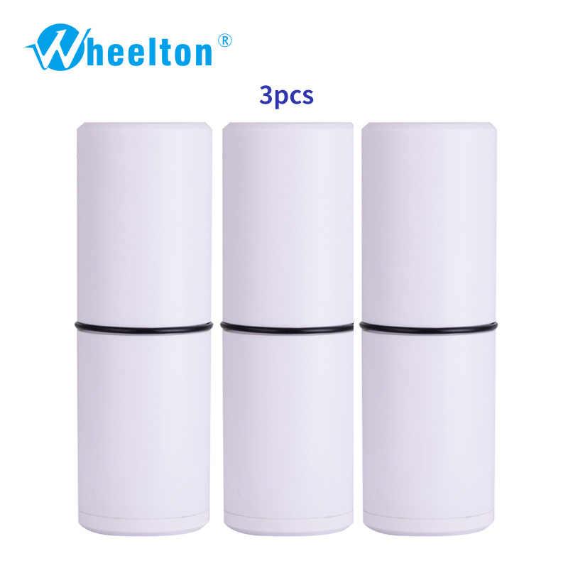 WHEELTON 3 шт./лот картриджи фильтра для воды для душа очиститель воды H-303E элемент Европейский склад вариант