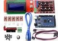 Impressora 3D Kit Mega 2560 R3 + 1 Pcs RAMPS 1.4 Controlador + 5 Pcs A4988 Stepper Módulo Driver/RAMPAS 1.4 2004 LCD controle