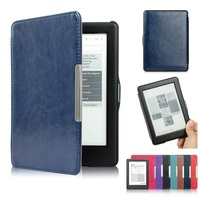 Magnet Flip Cover EBook Case For Kobo Glo HD Ultra Slim PU Leather Magnet Smart EReader
