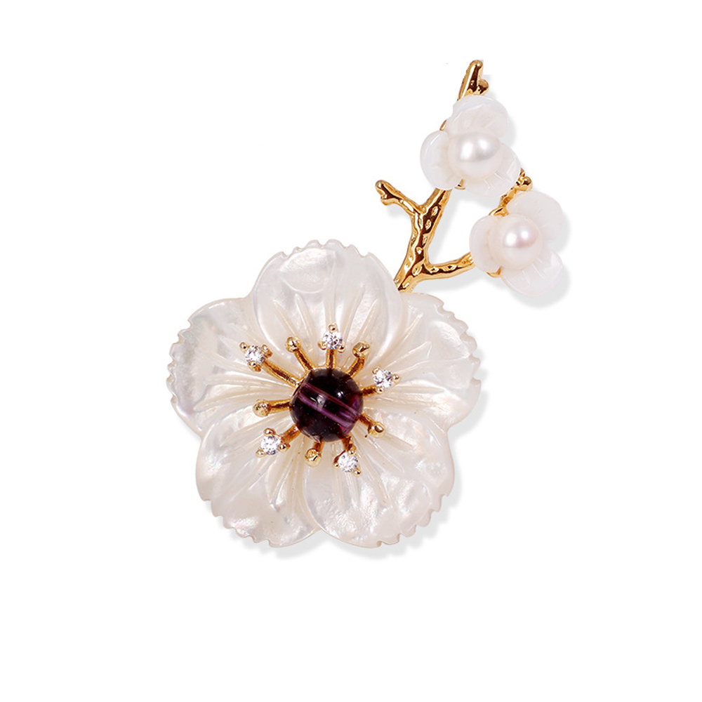 Aliexpress buy jujie fashion pearl flower brooches for women aliexpress buy jujie fashion pearl flower brooches for women brand luxury lapel pins for wedding bouquets brooch summer fashion jewelry from reliable izmirmasajfo