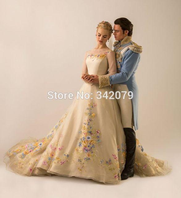 Ph15598 2015 brautkleider Neue Film Deluxe Cinderella Kleid ...