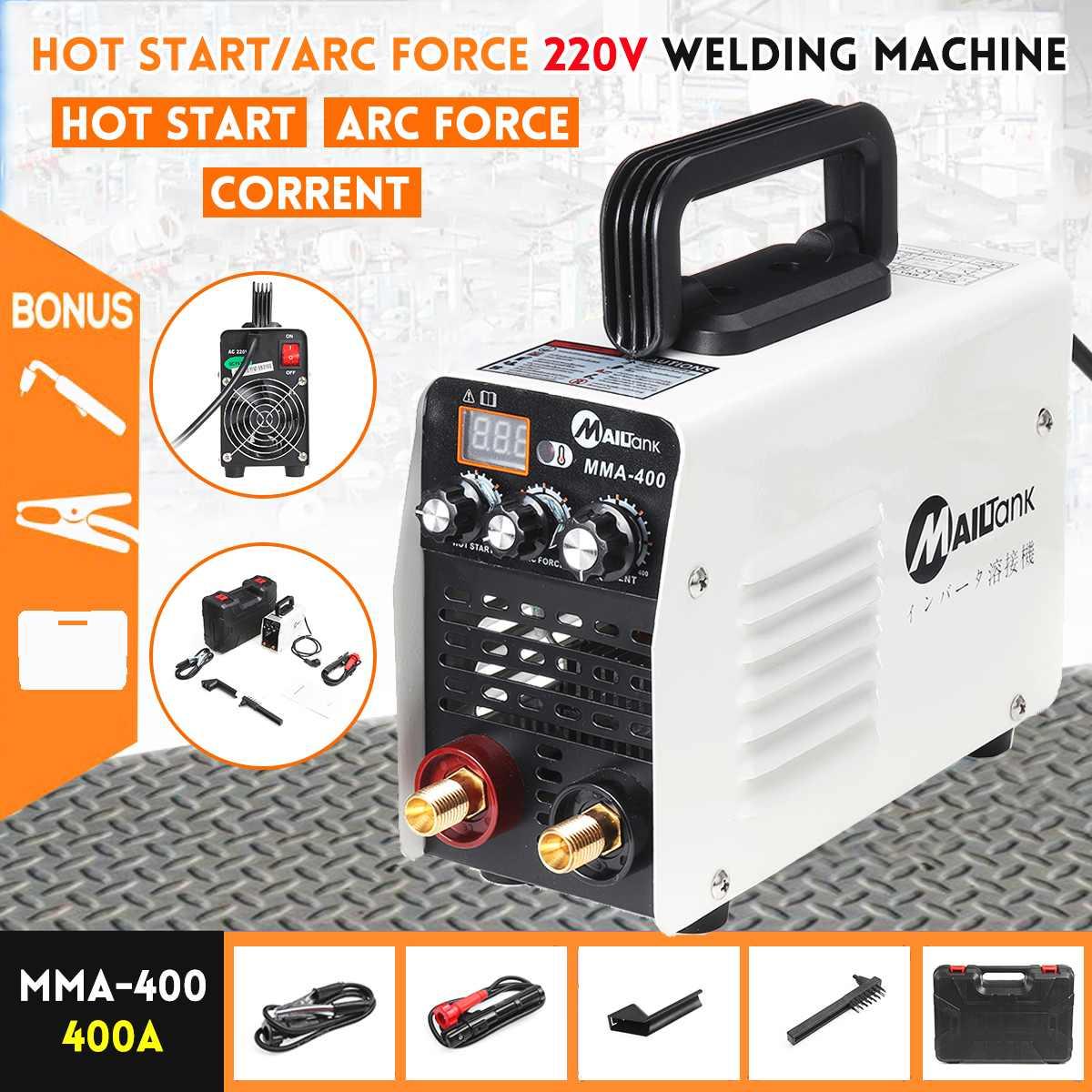 Mini IGBT Inverter Digital Hot Start MMA 220V Arc Welder Welding Machine Tools Welding Working Accessories Electric Power Tools