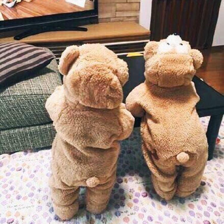 18f66f612 Προϊόν - Androktones Children Duffy bear Onesie Kids Girls Boys Warm ...