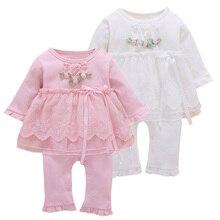 เด็กทารก Romper ทารกแรกเกิดอินเสื้อผ้าเด็กทารกเจ้าหญิงฝ้าย Jumpsuit เด็กวัยหัดเดินเสื้อผ้ากระโปรงลูกไม้สไตล์ Romper เสื้อผ้าเด็กใหม่