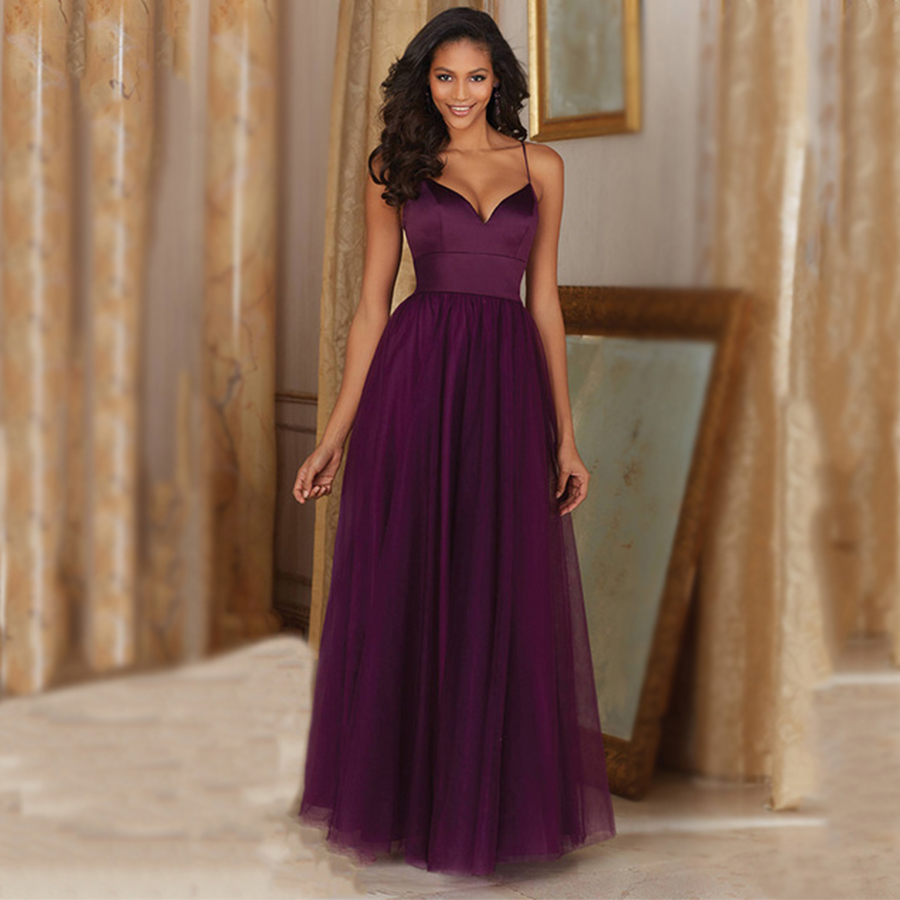 Online Buy Wholesale bridesmaid dresses plum from China ...