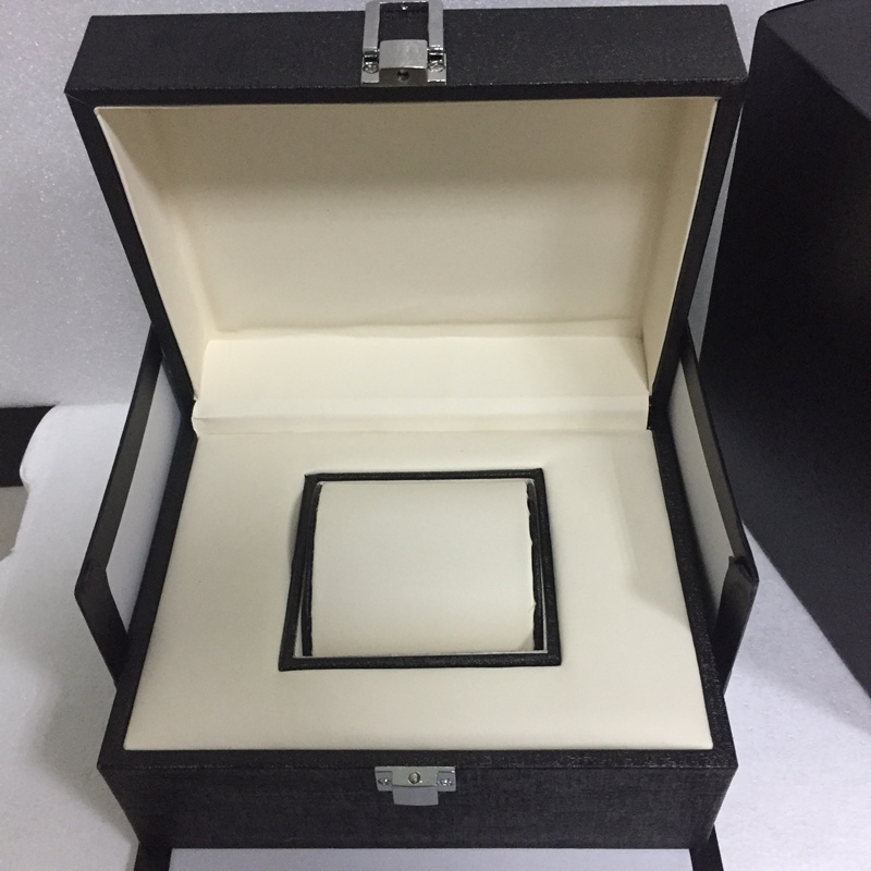 Top Quanlity Leather Watch Box Fashion Black Brand Watch Gift Box Hot Sale Watch Storage Boxes Can Customize LOGO W025
