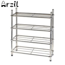 4 Tire Shoe Rack Shelf Home Storage Organizer Closet Portable Multilayer Combination Dustproof for Cabinet Storage