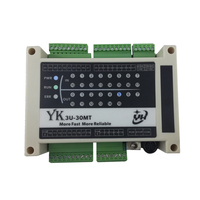 PLC controller FX1N FX2N FX3U programmable industrial board with analog quantity