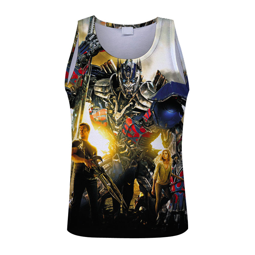 2017 Men T-Shirt Waist Trainer Body Shapers Weight-Loss Hot Autobots Tank Tee Workout Slimming Belly Body Vest at Burning
