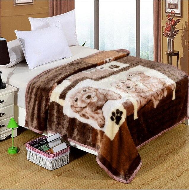 Высокое качество! Рашель детское одеяло новорожденного искусственного меха супер мягкий мультфильм 140 x 190 см для кроватей толстые теплые дети бросок