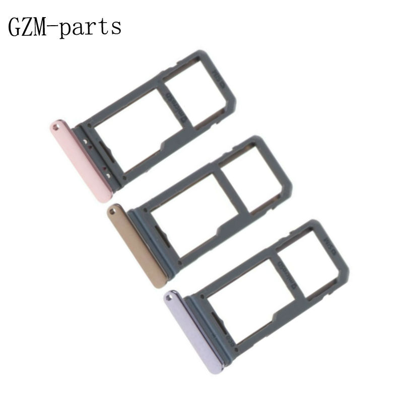 GZM-parts 1 Piece For Samsung Galaxy S8 G950F S8 Plus SIM Card Slot SD Card  Tray Holder Adapter