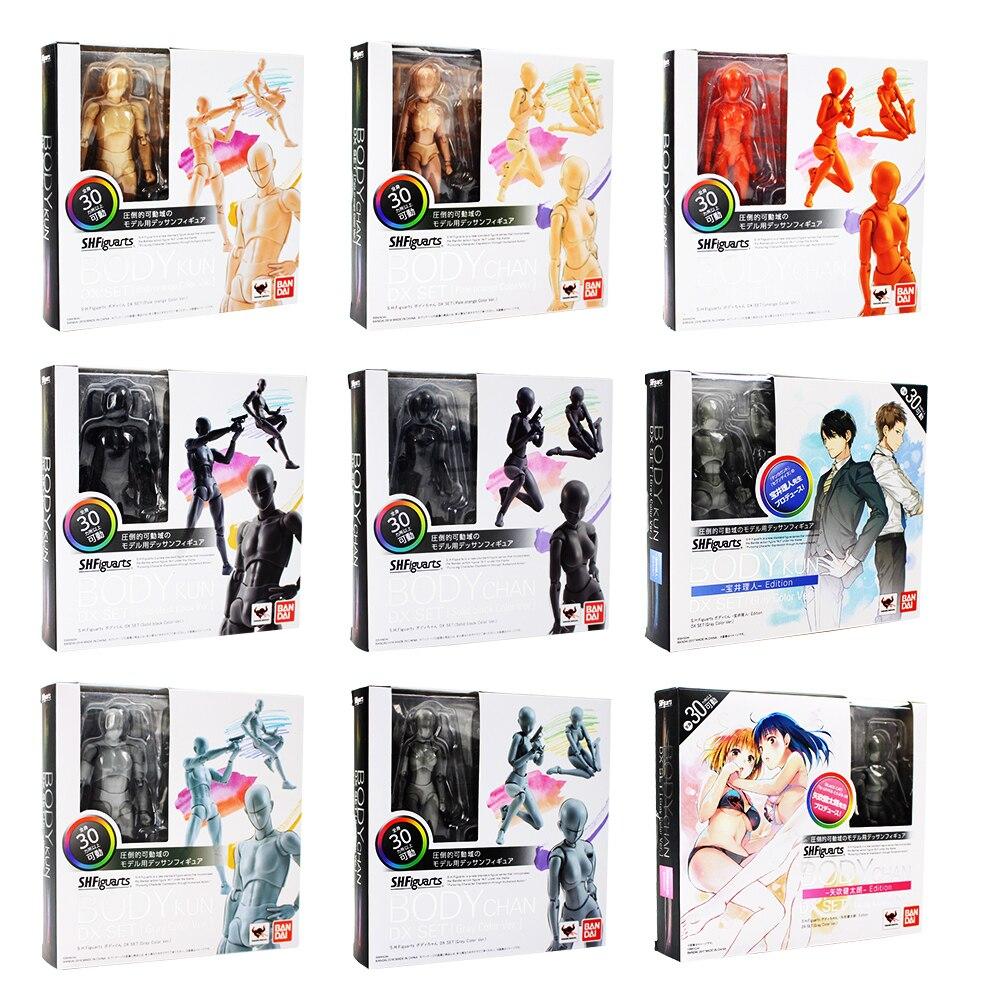 10 stile 13-14 cm SHF Figuarts Körper Kun Körper Chan Urform Er Urform Sie Ver PVC Action Figure sammeln Modell Spielzeug Puppen
