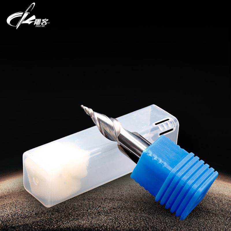 Mini Word engraving tools milling cutter for Resin  Acrylic Soft fiber Board Diaoke SHK:6mm cnc End mill велосипед forward arsenal 1 0 2016