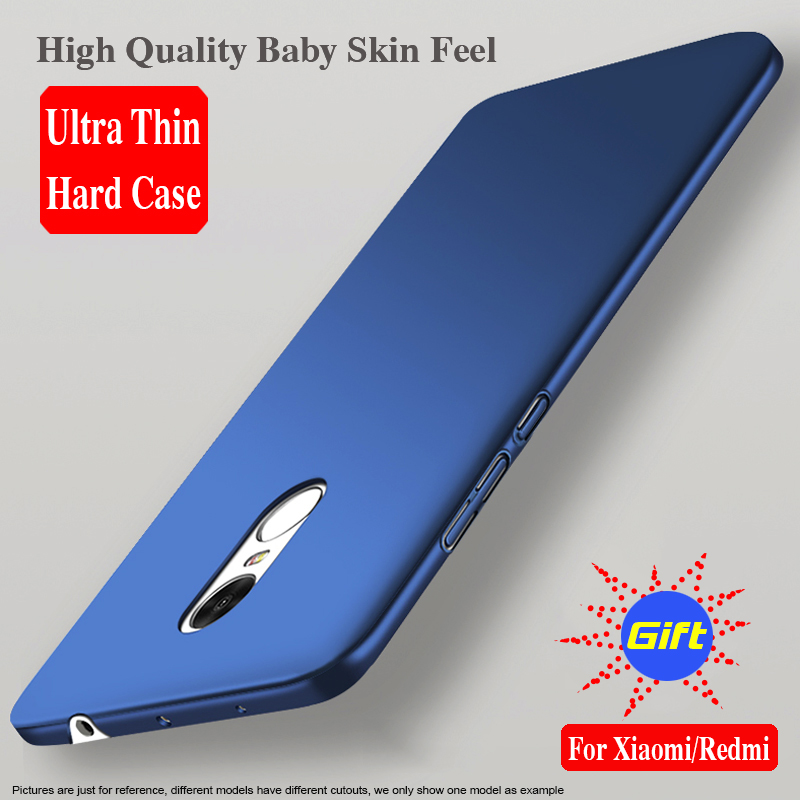 For Xiaomi Mi Note 3 Case Redmi Note 5A Back Cover JCDA MiA1 Mi5X Y1 5S Phone Shell 360 Protection Note 4X Matte Hard PC Fashion