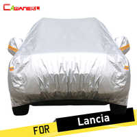 Cawanerl Car Cover Automotive Anti UV Sun Rain Snow Protection Cover Dustproof For Lancia Thema Thesis Ypsilon Phedra Musa Delta