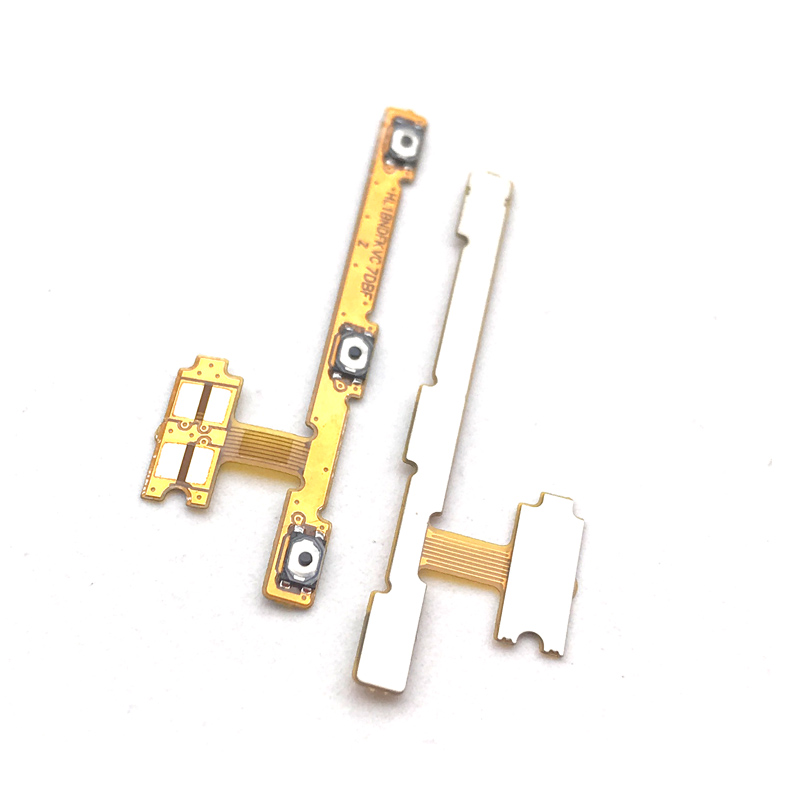 Original New Side Key Button Flex Cable For Huawei Honor 7x 7s P Smart Power Volume Flex Cable Repair Parts