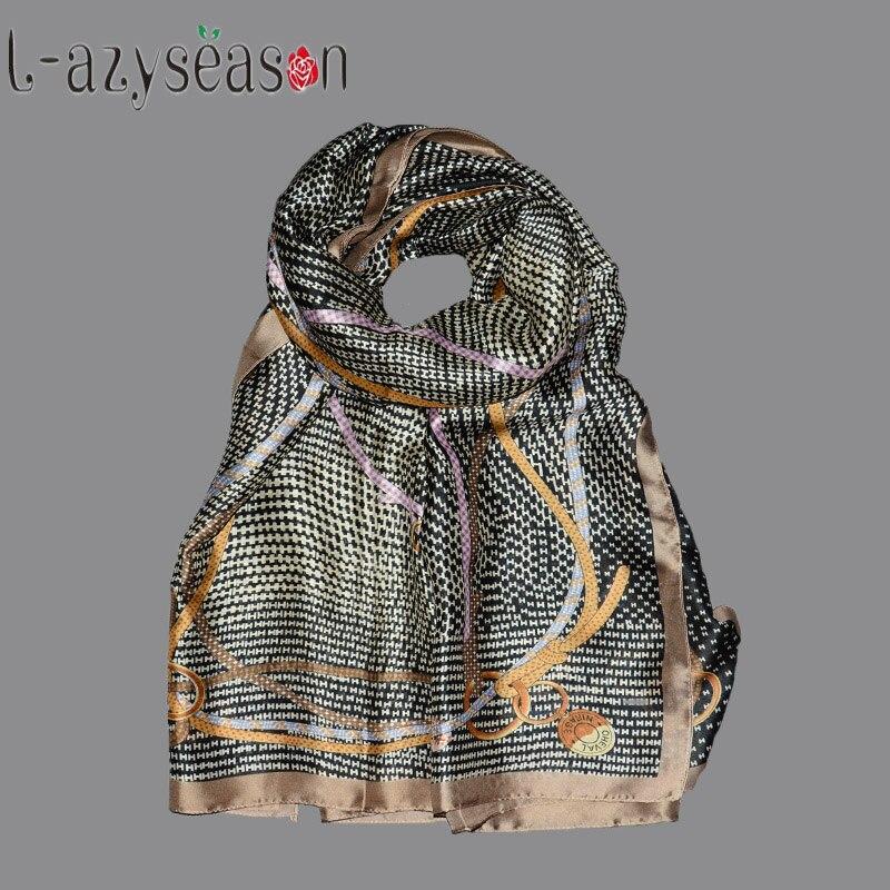 2018 Summer Luxury Brand women Scarf fashion Print quality Silk Feeling Scarves Designer Shawls Wraps long size bandana foulard