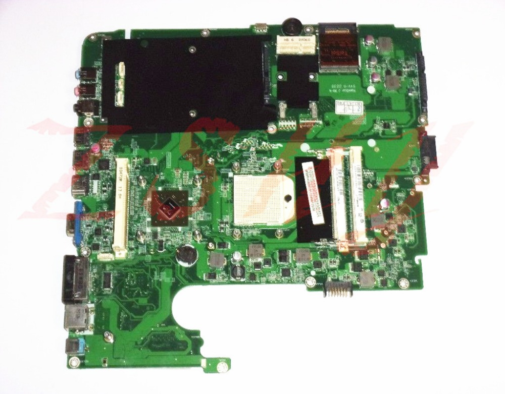 for Acer Aspire 7530 laptop motherboard AMD ddr2 31ZY5MB0050 MBARH060019110 Free Shipping 100 test ok in Laptop Motherboard from Computer Office