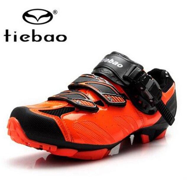 Tiebao tênis de ciclismo mtb, sapatilhas para uso ao ar livre, para bicicleta de montanha, vtt, feminino e masculino 5