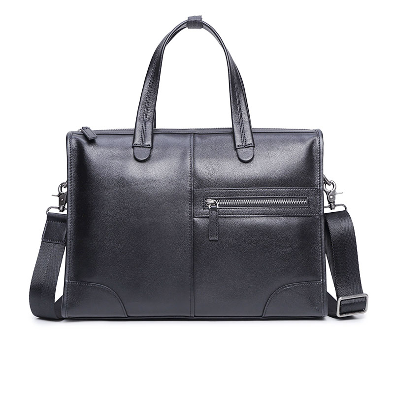 PI008 Leather / Men's Bag Handbag Men's Business Bag Shoulder Bag Casual Messenger Bag Briefcase Men's First Layer Cowhide
