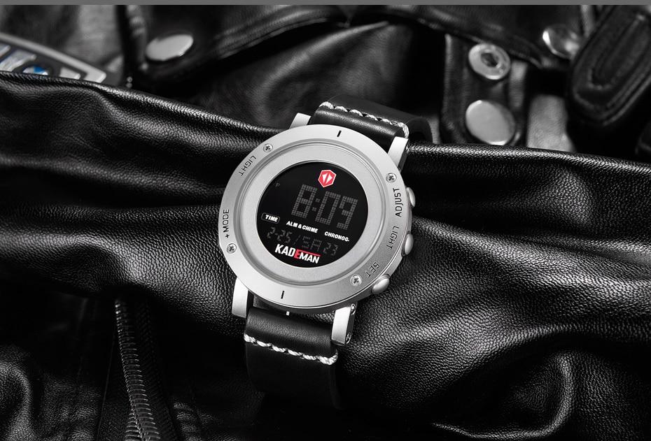 KADEMAN Army Military Luxury Brand Men's Watches Men Sports Watch Quartz Digital Clock Man Leather Wrist Watch Relogio Masculino (20)