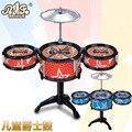 Crianças jazz tambor tambor simulação brinquedos mão tambor instrumento musical barracas que vendem por atacado crianças