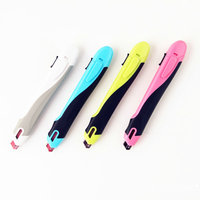 KOKUYO Utillity Knife Paper Cutter Knife HA S100 4 Body Colors Safe School And Office Supply