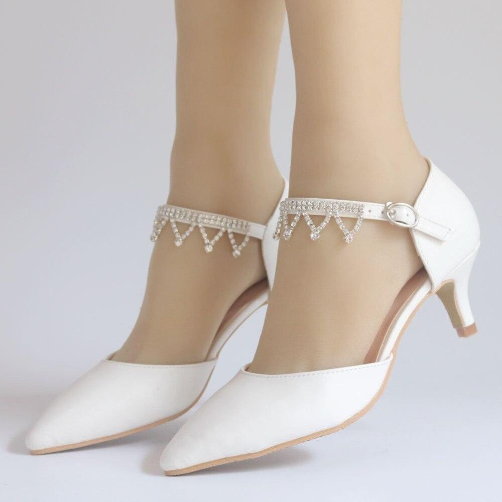 Novia Temperamento Gran Único De Imitación Mujer Alto Tamaño Elegante  Diamantes Cm Tacón Boda 5 Blanco Zapatos xAUPPvf b6d59e4b63ab