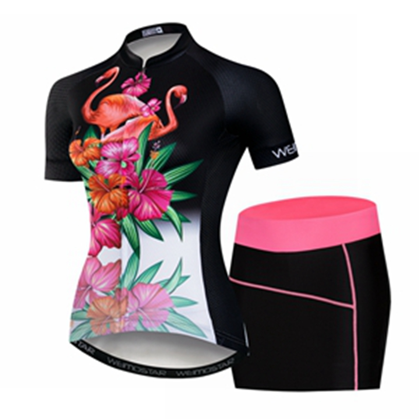 Weimostar Quick Dry Cycling Jersey set GEL Pad 2018 Pro Team Short Sleeve Cycling set Maillot Dress Ciclismo Cycling Clothing
