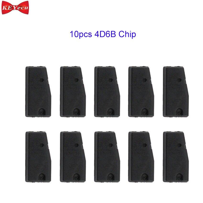 KEYECU 10pcs New 4D6B Transponder Key Chip for Suzuki GSX GSXR 600 750 1000 GS