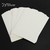 KiWarm 100แผ่นที่มีคุณภาพการพิมพ์ที่ดีA4สีขาวฉลากสติกเกอร์กาวตนเองกระดาษแผ่น