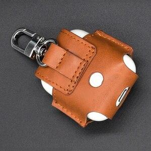 Image 3 - Leder Kopfhörer Abdeckung Für Airpods Fall drahtlose kopfhörer schutz Abdeckung Stoßfest Schutzhülle Kopfhörer Zubehör
