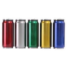 500ml Large Capacity Straw Mug Creative Color Jar Stainless Steel Thermos Leakproof Good Gift