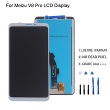 For Meizu V8 Pro LCD Display Touch Screen Digitizer Assmbly For Meizu V8 Pro Display Screen LCD Free Tools все цены