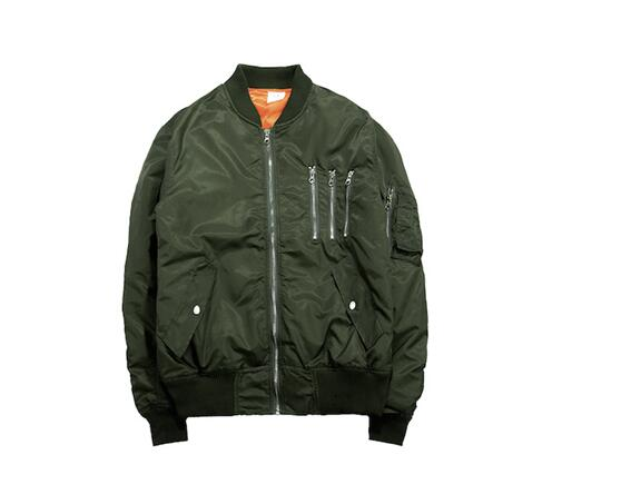 New style Anarchy Japanese Merch BOMBER Flight pilot men Coat jacket