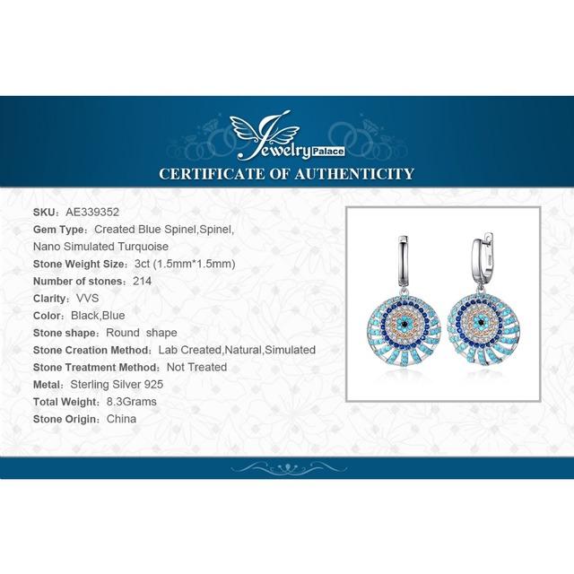 Turquoises Dangle Drop Earrings