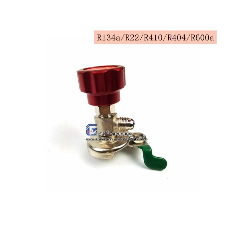 R134a R22 R404a R410a R600a A/C Kältemittel Können Tap Zapfventil