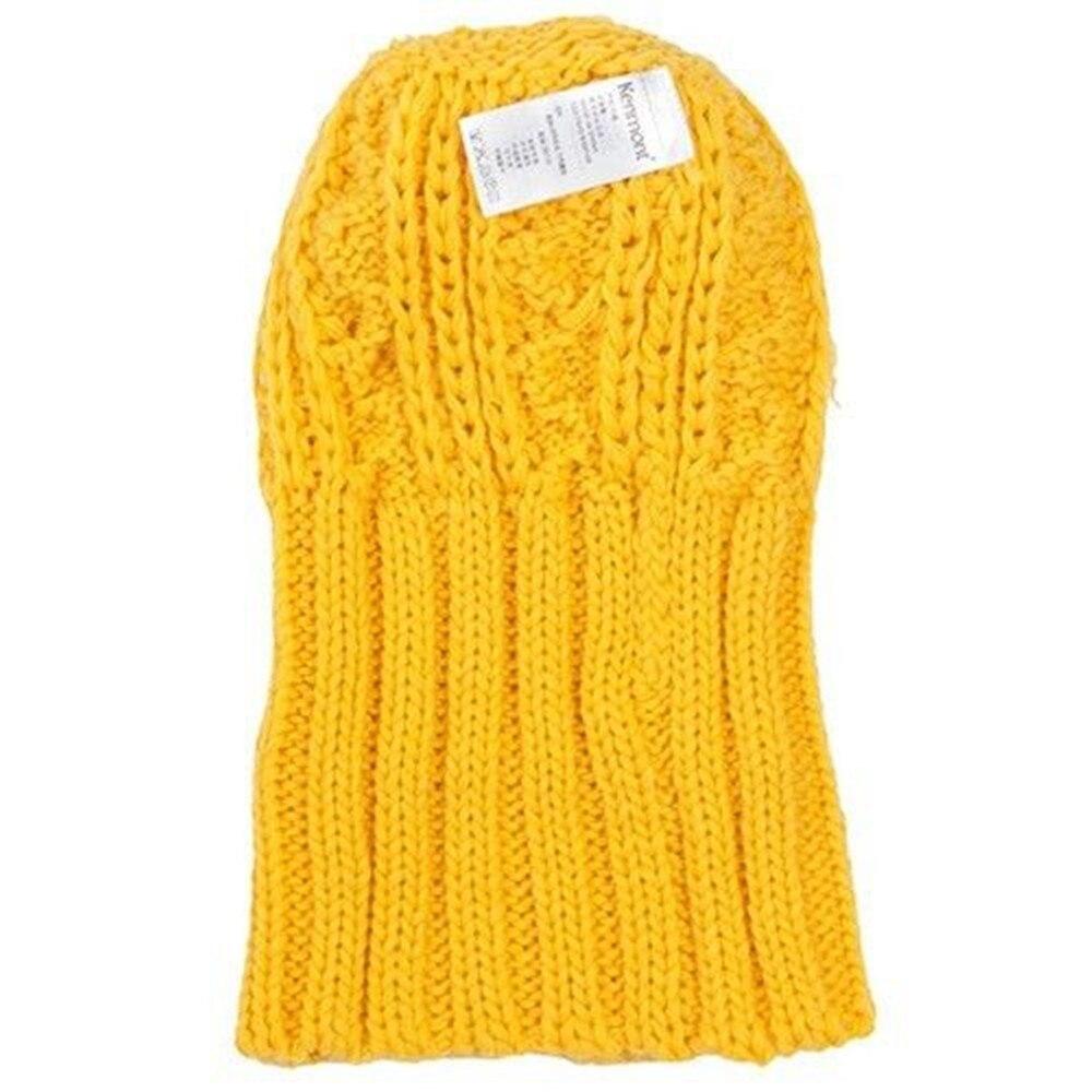 Holiday Sale Kenmont New Arrival Brand Wool Hand Knit Winter Beanie Hat  Mustard Yellow Warm Vintage Women Ladies Cap 1225 40 -in Skullies   Beanies  from ... 703b488df401
