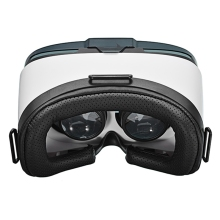 V5 VR BOX Eye Version 3D VR Virtual Reality Glasses Ultra Light Headset Game VR Glasses for Smart Phones 3D Private White